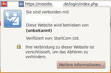 Schulserver via HTTPS